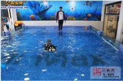 亮瞎您的双眼!杭州惊现宠物游泳