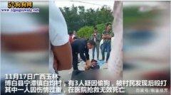 广西玉林3人偷狗被打、一