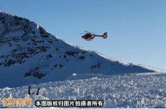 瑞士徒步旅行者被雪崩压